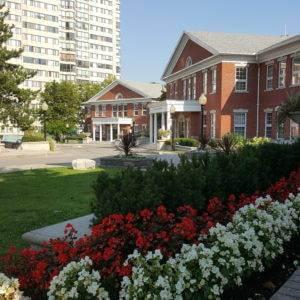 Quiet and Beautiful Campus