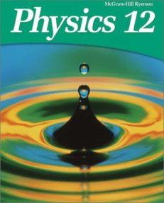 Grade 12 Physics SPH4U University Preparation